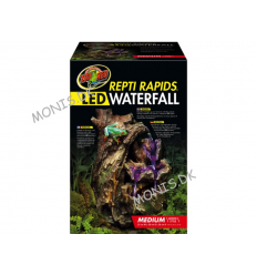 Zoo Med Repti Rapids LED Waterfall Medium Wood